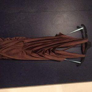 Marciano chocolate dress